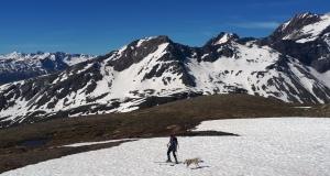 Es gab sogar Anfangs Saison noch genug Schnee zum skifahren