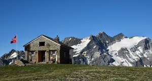 Unsere Hütte! Foto von Erna Cathomas